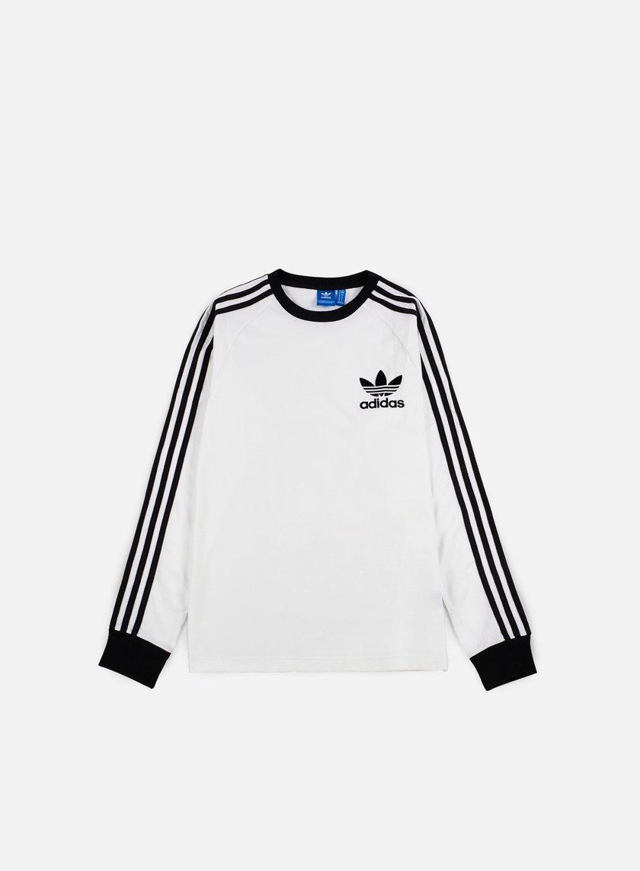Adidas Originals - CLFN LS T-shirt, White