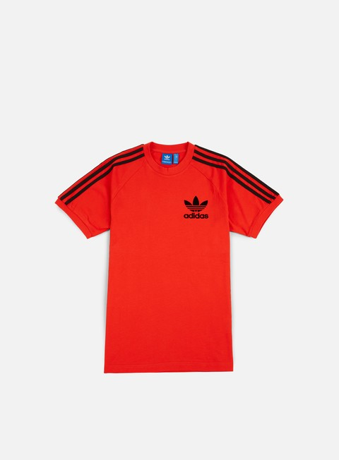 t shirt adidas originals clfn t shirt core red