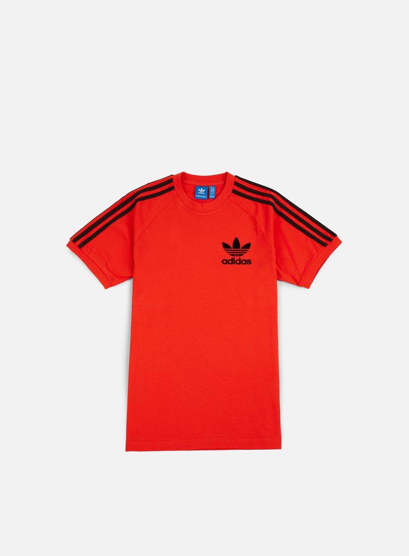 Adidas Originals - CLFN T-shirt, Core Red