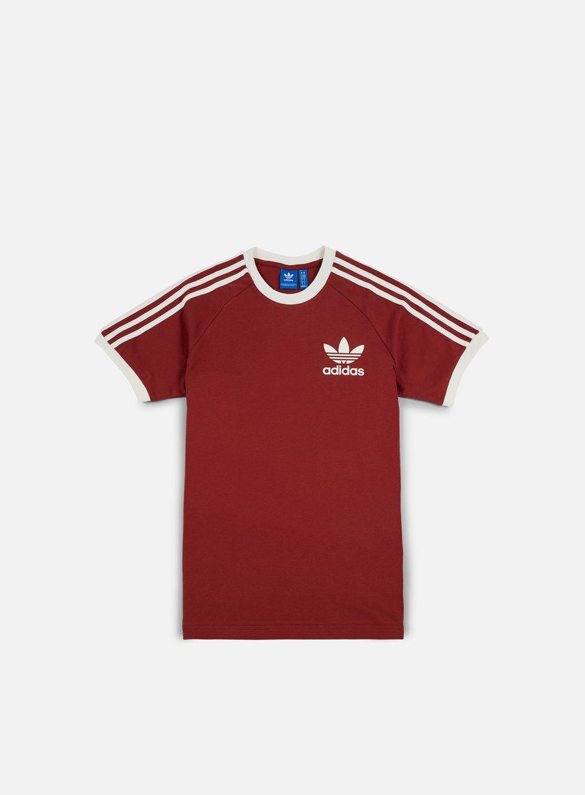 adidas originals clfn t shirt mystery red 33 00