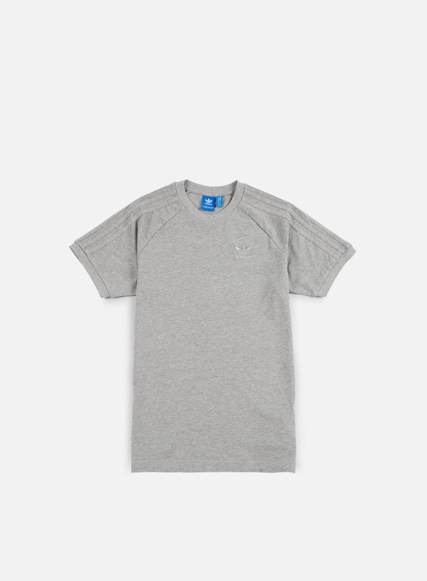 Adidas Originals - CLFN Triple T-shirt, Medium Grey Heather