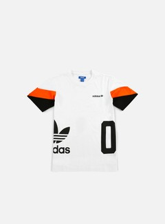 Adidas Originals - Color Block T-shirt, White