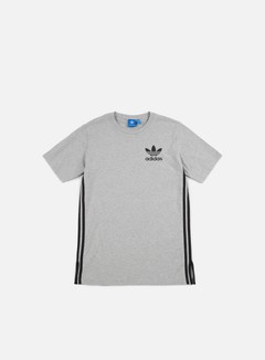 Adidas Originals - Elongated T-shirt, Medium Grey Heather 1