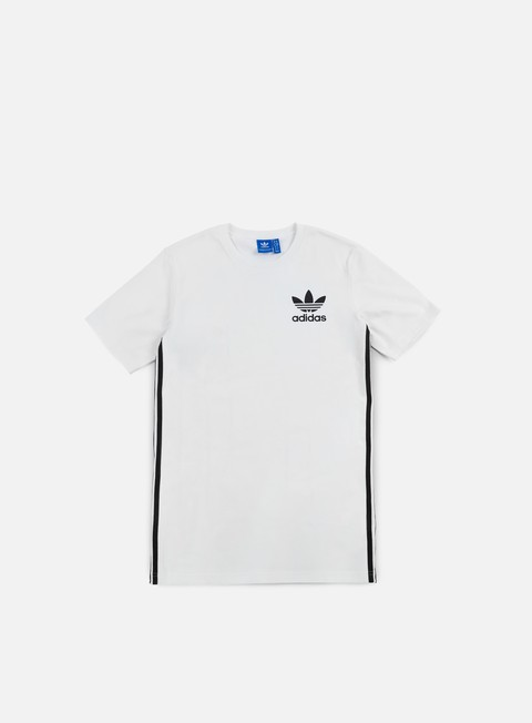 t shirt adidas originals elongated t shirt white