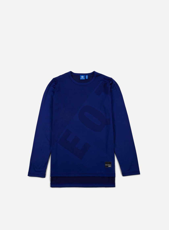 Adidas Originals - EQT Engineered LS T-shirt, Mystery Ink