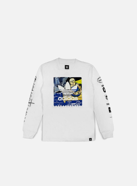 Adidas Originals - Ferg LS T-shirt, White