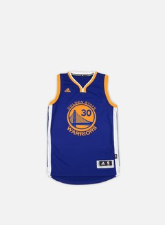 Adidas Originals - Golden State Warriors Swingman Jersey Stephen Curry, Team Colors 1
