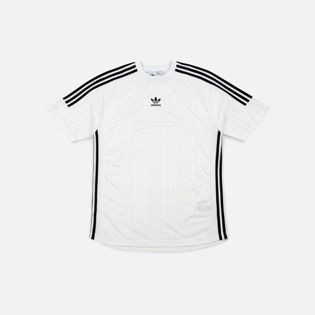 Adidas Originals Jaq 3 Stripes Jersey Men, White Black | Graffitishop