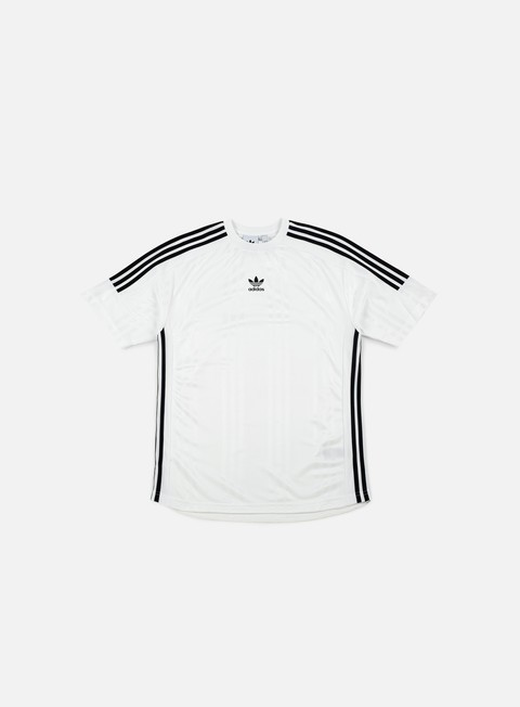 t shirt adidas originals jaq 3 stripes jersey white black