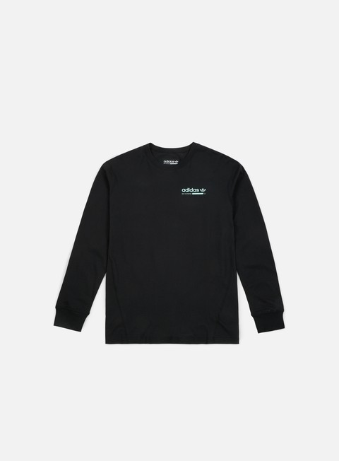 t shirt adidas originals kaval grp ls t shirt black clemin