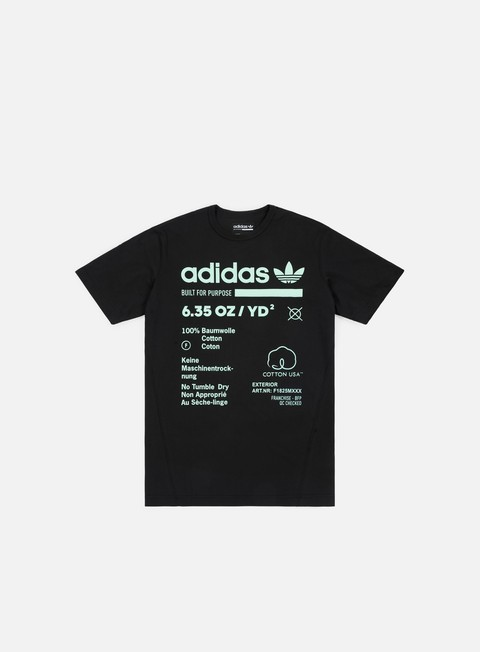 t shirt adidas originals kaval grp t shirt black clear mint