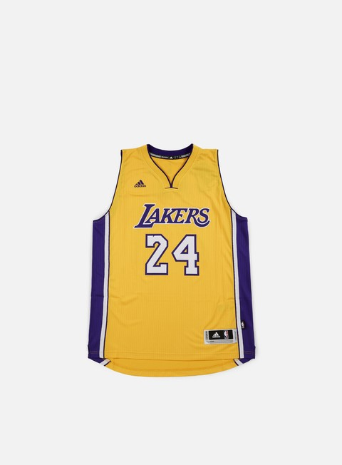 t shirt adidas originals la lakers swingman jersey kobe bryant yellow