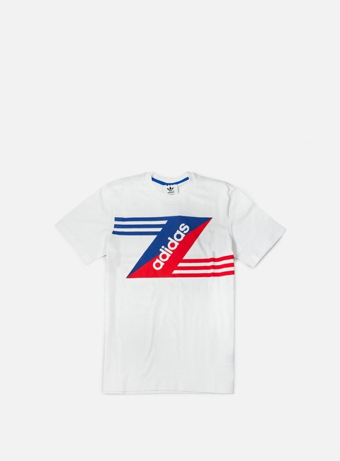 t shirt adidas originals linear logo t shirt white