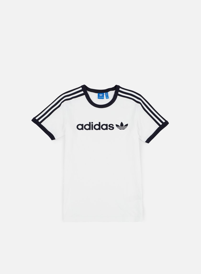 Adidas Originals - Linear T-shirt, White