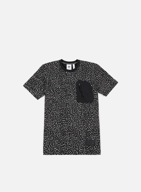 t shirt adidas originals nmd all over print t shirt black white