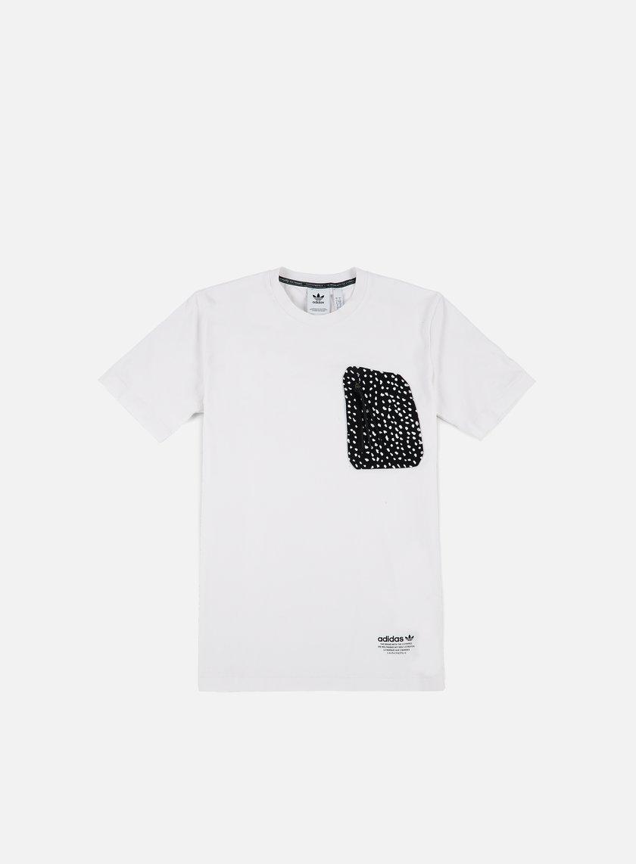 Adidas Originals - NMD Pocket T-shirt, White