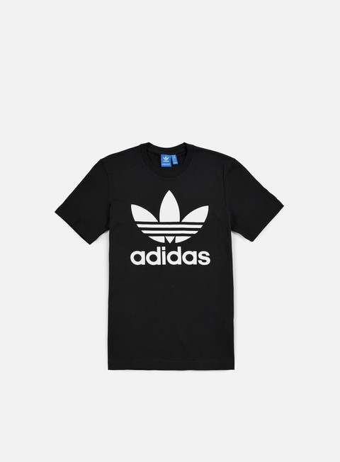 t shirt adidas originals original trefoil t shirt black