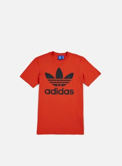Adidas Originals - Original Trefoil T-shirt, Coral Red 1