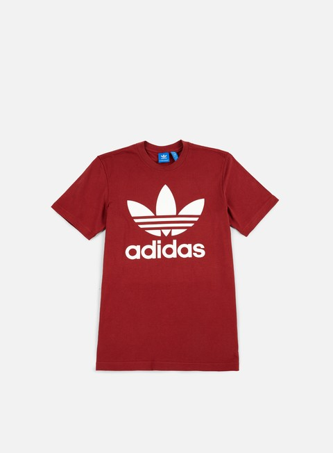 t shirt adidas originals original trefoil t shirt mystery red