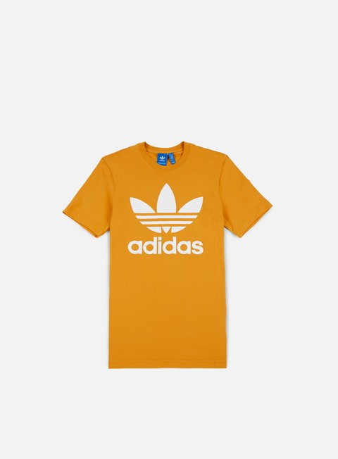 t shirt adidas originals original trefoil t shirt tacticale yellow