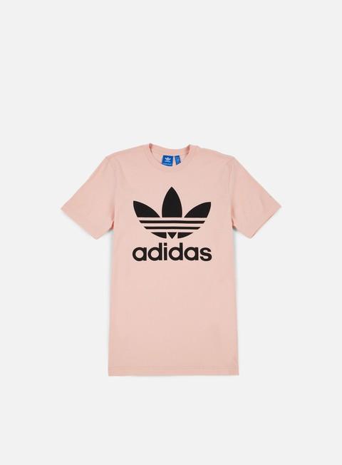 t shirt adidas originals original trefoil t shirt vapour pink black