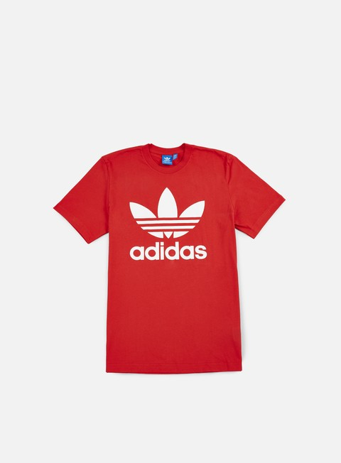 t shirt adidas originals original trefoil t shirt vivid red