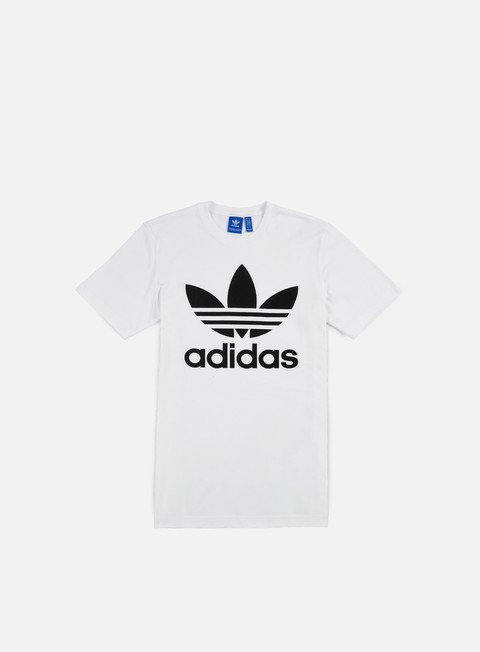 t shirt adidas originals original trefoil t shirt white