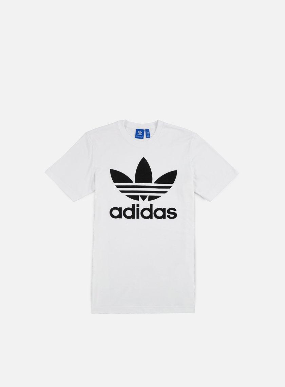 adidas originals trefoil graffiti t shirt