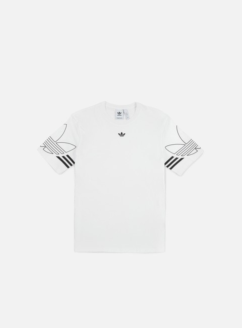 Outlet e Saldi T-shirt a Manica Corta Adidas Originals Outline 2 T-shirt