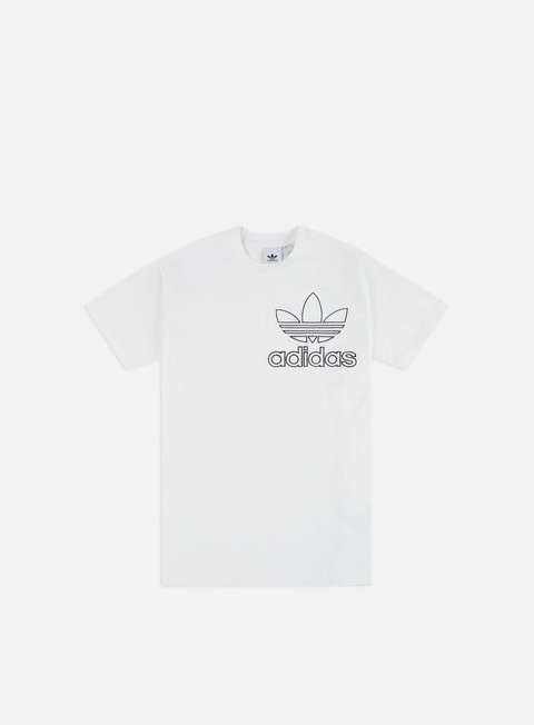 Short Sleeve T-shirts Adidas Originals Outline 3 T-shirt