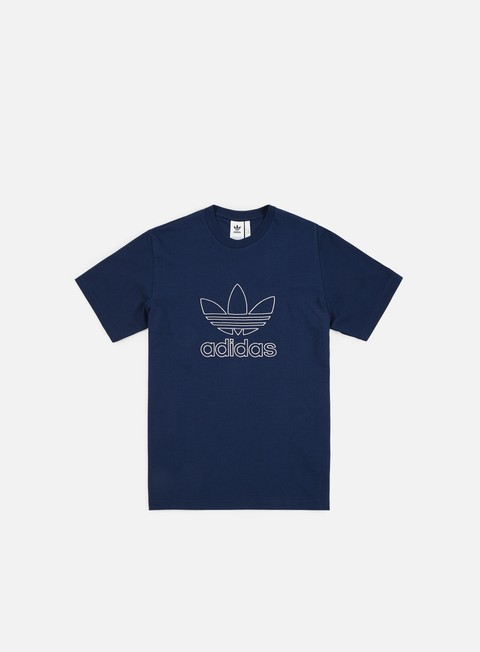 t shirt adidas originals outline t shirt collegiate navy