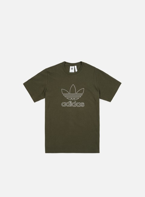 t shirt adidas originals outline t shirt night cargo
