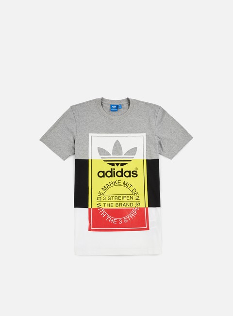Sale Outlet Short Sleeve T-shirts Adidas Originals Panel Tongue T-shirt