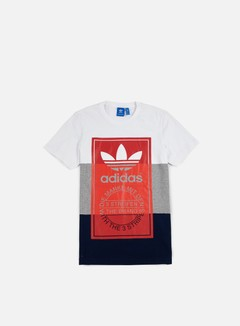 Adidas Originals - Panel Tongue T-shirt, White