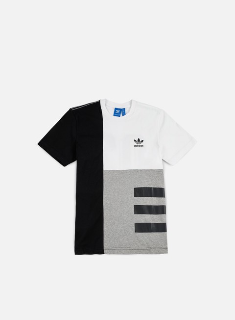 t shirt adidas originals panel wars t shirt white black