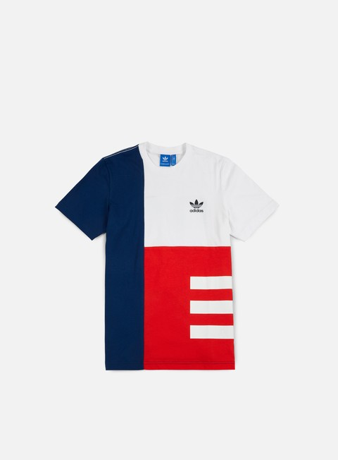 t shirt adidas originals panel wars t shirt white mistery blue