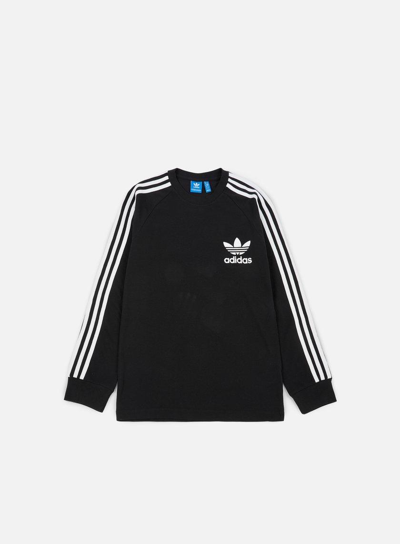 Adidas Originals - Piqué LS T-shirt, Black