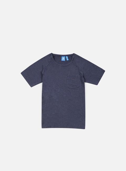 t shirt adidas originals premium essentials t shirt collegiate navy melange
