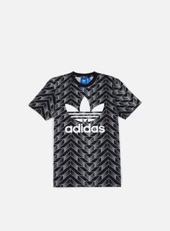 Adidas Originals - Soccer Trefoil T-shirt, Black/White 1