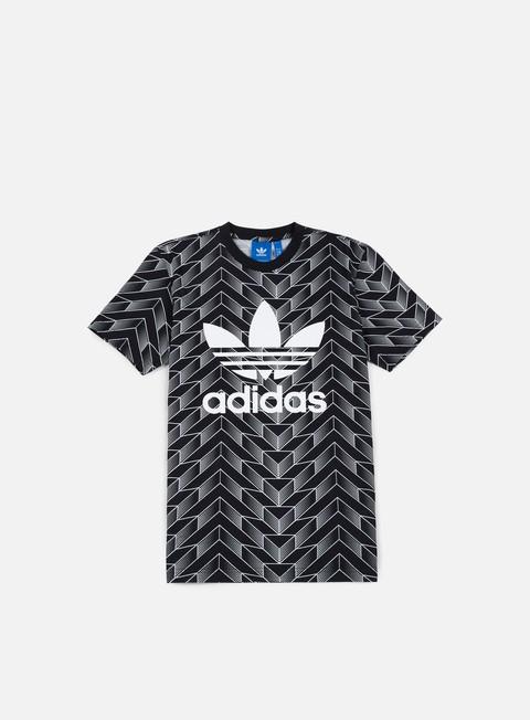 Outlet e Saldi T-shirt a Manica Corta Adidas Originals Soccer Trefoil T-shirt