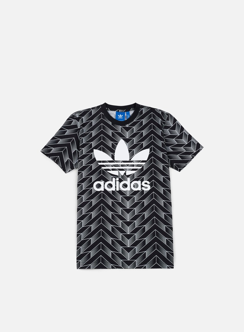 Adidas Originals - Soccer Trefoil T-shirt, Black/White