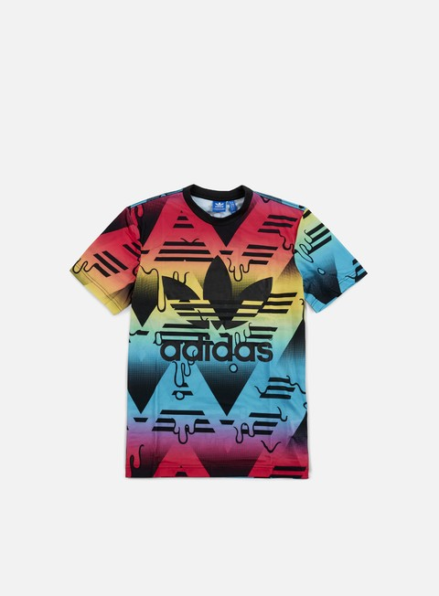 t shirt adidas originals soccurf jersey multi color