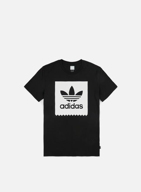 t shirt adidas originals solid bb t shirt black white