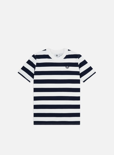 Sale Outlet Short Sleeve T-shirts Adidas Originals Stripe T-shirt