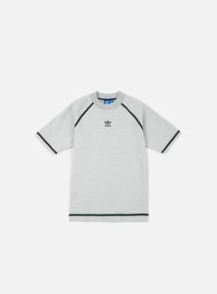 Adidas Originals - Taped Nova T-shirt, Medium Grey Heather/Dark Solid Grey 1