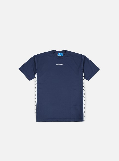 t shirt adidas originals tnt trefoil t shirt trace blue white