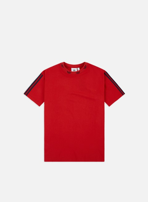 Outlet e Saldi T-shirt a Manica Corta Adidas Originals Trefoil Rib T-shirt