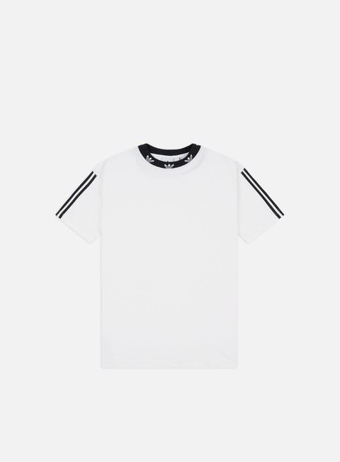 Sale Outlet Short Sleeve T-shirts Adidas Originals Trefoil Rib T-shirt