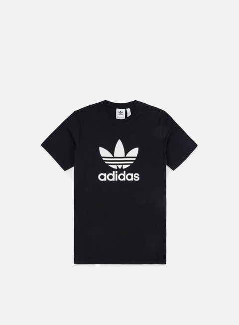 t shirt adidas originals trefoil t shirt black