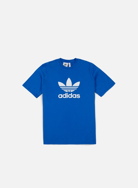 t shirt adidas originals trefoil t shirt blue